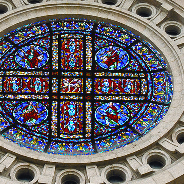 Cathedral of St. Paul Rose Window