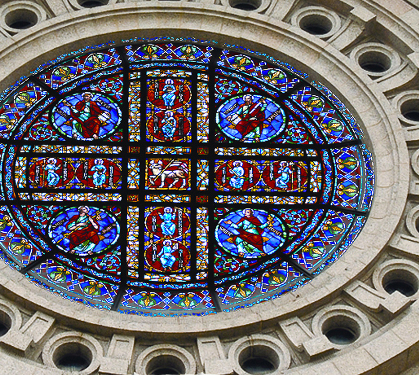 Cathedral rose window will be lit during Festival of Lights