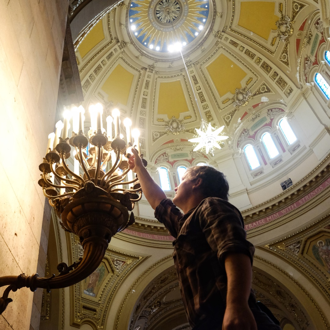 Cathedral St. Paul Lighting Restoration