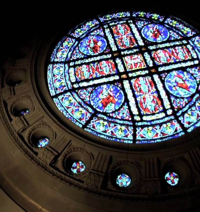 Cathedral St. Paul Rose window Restoration