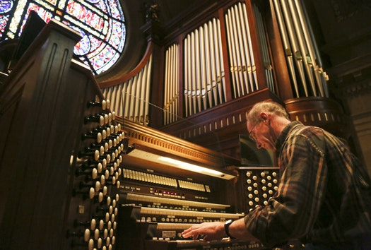 Cathedral's restored organs are noteworthy