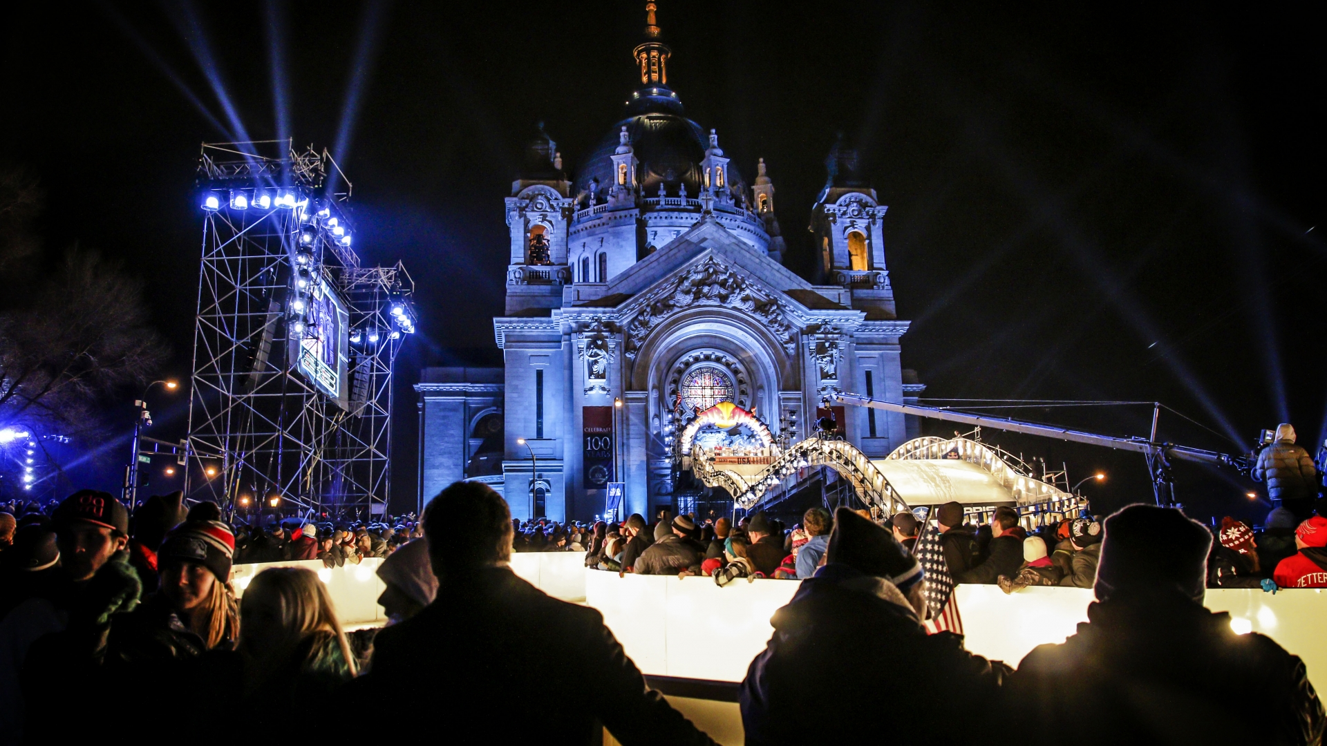 Cathedral St. Paul | Crashed Ice 2015