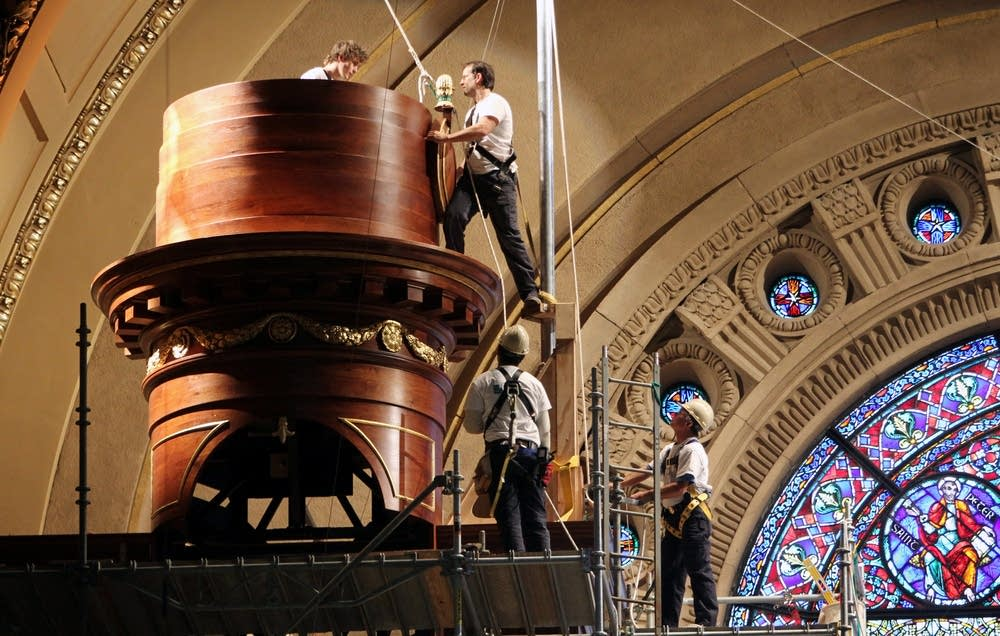St. Paul Cathedral organ gets a tune up