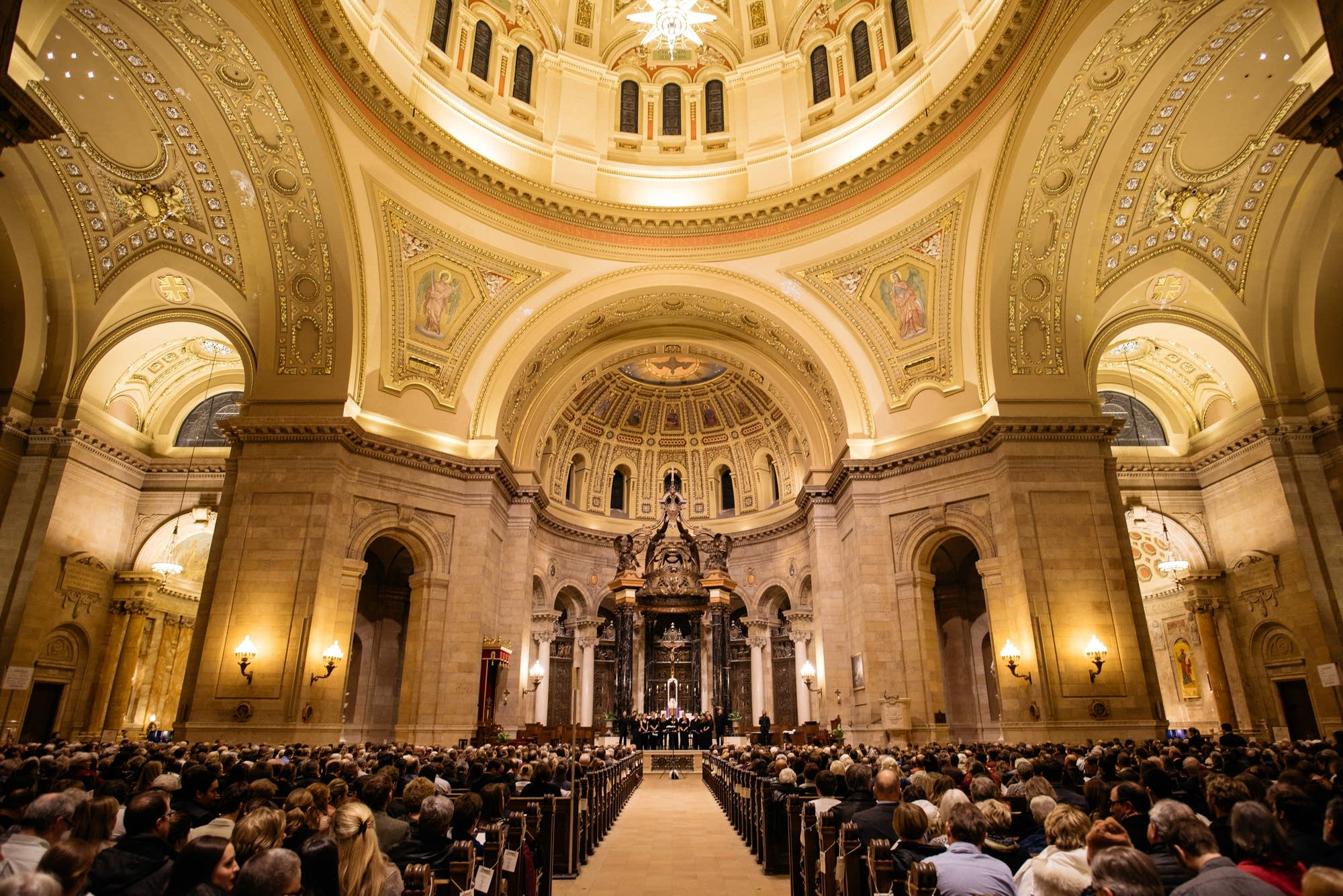 Easter Celebration Marks 100 Years At St. Paul Cathedral