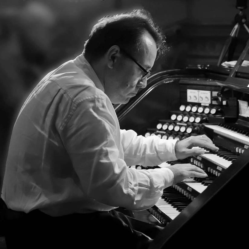 Virtuoso Organist, David Briggs 7:30 p.m. Tuesday, April 2, 2019